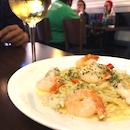 Tasty Pasta And Halal Wine