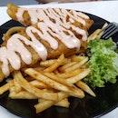 WhatheFish! Mentaiko Cod Fish and Chips