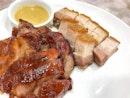 BBQ combination platter ($20++)