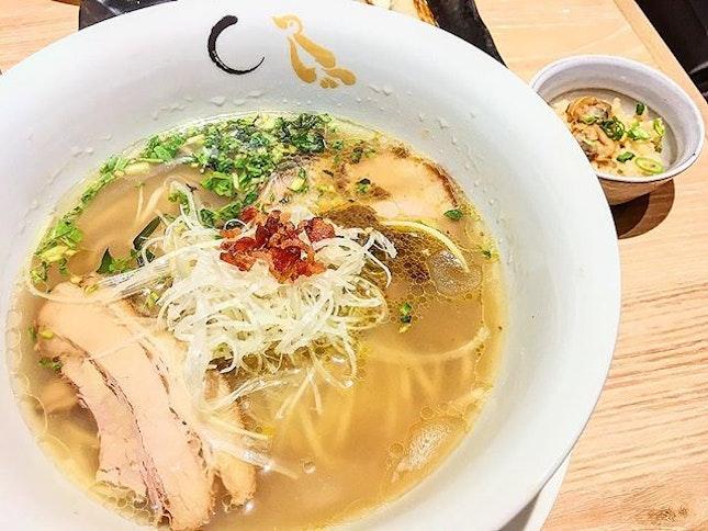 Shio Hamaguri Soup Ramen ($14.90).