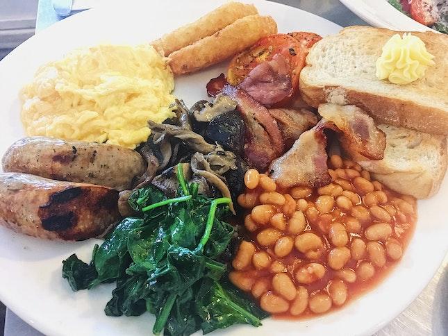 Jones Traditional English Breakfast ($28)