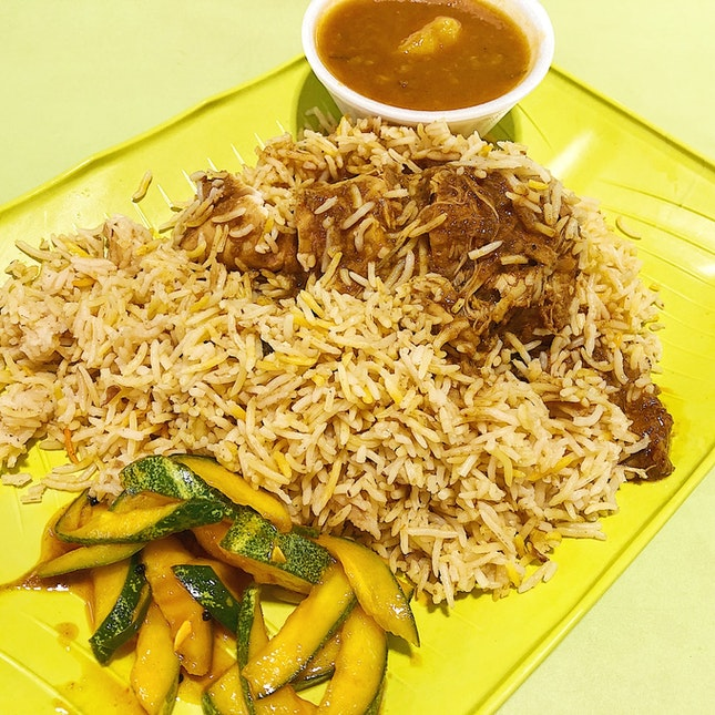 Chicken Briyani ($6)