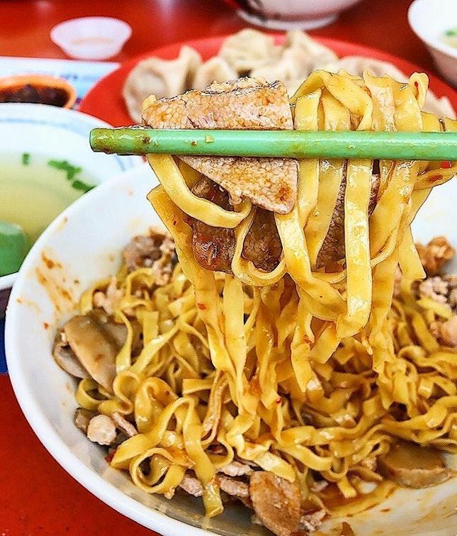 Minced meat noodles ($3/$3.50/$4).