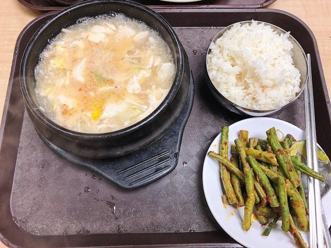 Tofu Stew Set ($10)