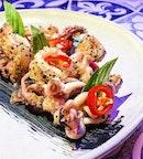 Wok Fried Salt Pepper Squid ($19).