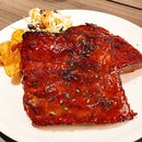 St. Louis-Style Barbecue Pork Ribs ($36). •HOSTED TASTING•
