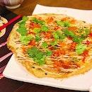 Okonomiyaki Omelette ($16).
