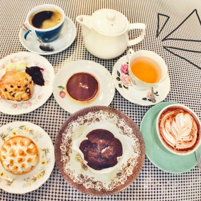 Tea, Tarts And Such