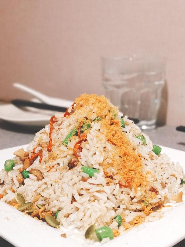 Truffle Mushroom Fried Rice