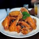Love is crispy chicken wings.