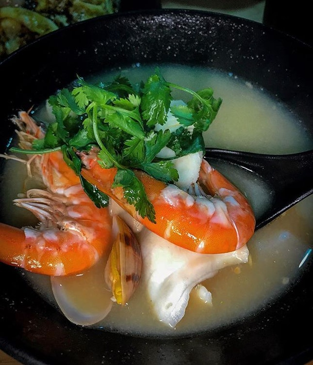 My new favourite seafood soup!