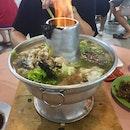 Charcoal Fish Head Steamboat