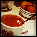 Coffe kaki breakfast