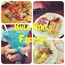 Bull wings factory 🐂 #chill #food #steak #chicken #drink #blue #instagood #friends #play