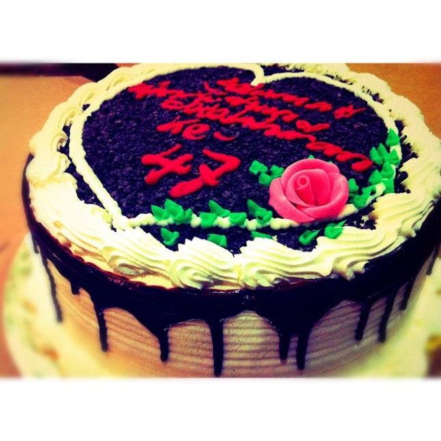 Groovy Happy Birthday Dad Chocolate Cake By Aminullah Aron Personalised Birthday Cards Veneteletsinfo