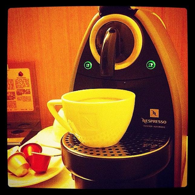 I should get myself one of this nespresso machine.