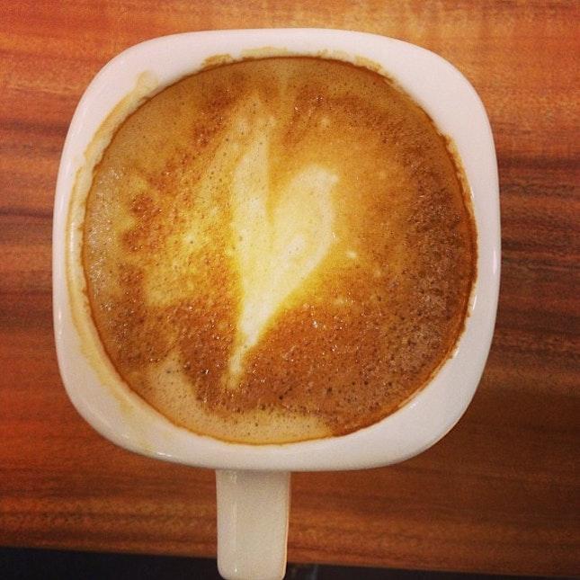 Coffee art failed.