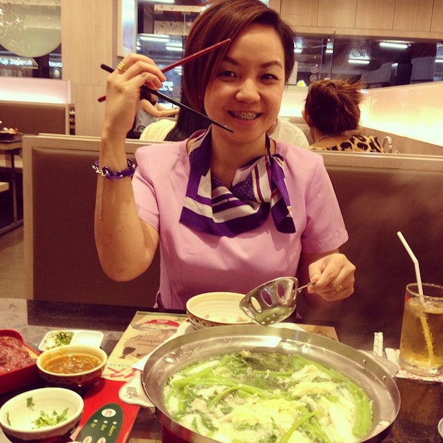 ผักต้ม #suki #mkrestaurant #sukiyaki #dinner #ppjourny #vegetable