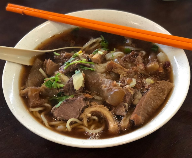 Hainam Mixed Beef Noodle