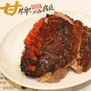 甘牌燒鵝+肥膿叉燒 Roast Goose + BBQ Pork Belly (Fatty Char Siu)