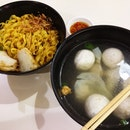 魚圓魚餃麵 Fishball & Fish Dumpling Mee