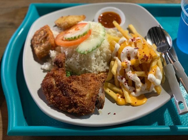 Ayam Penyet Combo