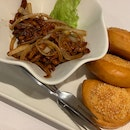 Shredded Pork with Sesame Bun