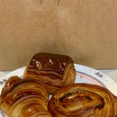 +Classic Croissant +Pain au Chocolat +Orange & Chocolate Escargot