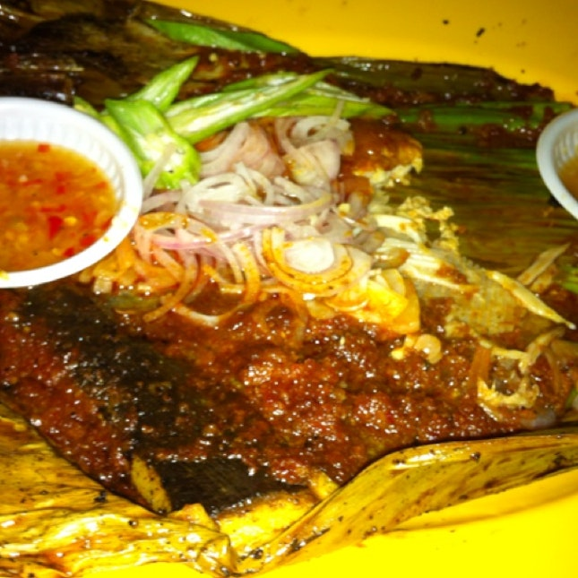 BBq Stingray - Yum Yum  #walksg