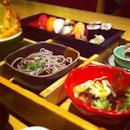 Sushi, Tempura & Soba Set