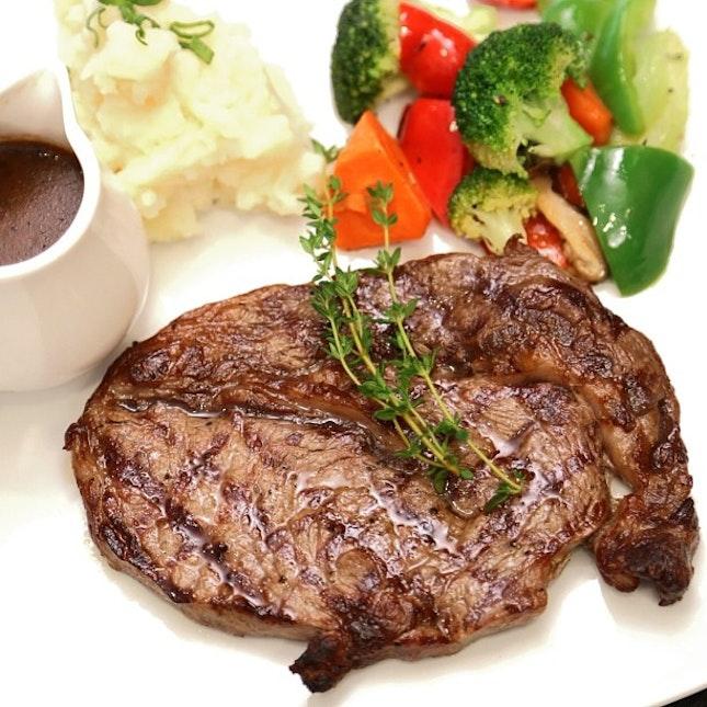 For a Steak Dinner